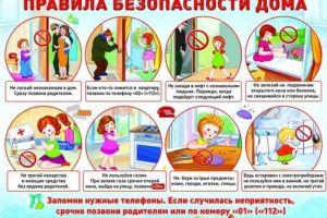 Правида безопасности дома